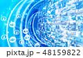 クラウド テクノロジー デジタルのイラスト 48159822