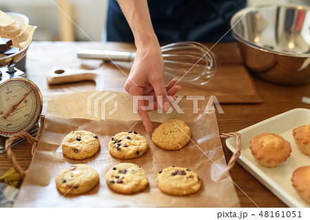 お菓子作り 48161051
