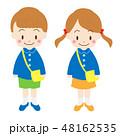 男の子 女の子 園児のイラスト 48162535