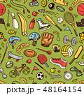 スポーツ パターン 柄のイラスト 48164154