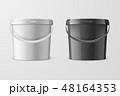 ベクトル バケツ 桶のイラスト 48164353