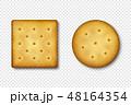 クラッカー ベクトル 円のイラスト 48164354