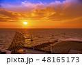 【海ほたる 夕日】 48165173