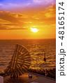 【海ほたる 夕日】 48165174