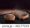 高級鉄板店-フィレステーキ-ステーキ-ヒレ 48177203