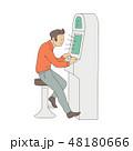 ベクトル ギャンブル 依存のイラスト 48180666