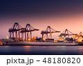 船舶 ポート 泊港の写真 48180820