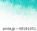 ポリゴン 角柱 多角形のイラスト 48181051