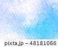 ポリゴン 角柱 多角形のイラスト 48181066