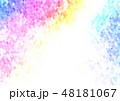 ポリゴン 角柱 多角形のイラスト 48181067