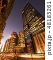 高層ビル ビル 都市風景の写真 48183261