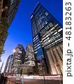高層ビル ビル 都市風景の写真 48183263