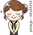女性 ラブ olのイラスト 48184339