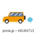 車 自動車 乗用車のイラスト 48184713