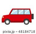 車 自動車 乗用車のイラスト 48184718