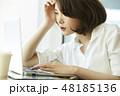 人物 女性 ビジネスの写真 48185136