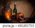 海賊 ドクロ 骸骨の写真 48185753