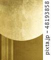 紗綾形 背景素材 和柄のイラスト 48193858