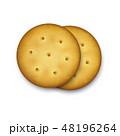 クラッカー 円 丸のイラスト 48196264