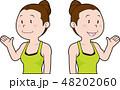 女性インストラクター 48202060