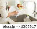 主婦 皿洗い 48202917