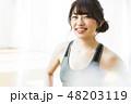 フィットネス エクササイズ ダイエットの写真 48203119