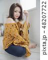 女性 女の子 きれいの写真 48207722