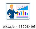ビジネス 職業 発表のイラスト 48208406