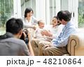 家族 ファミリー 三世代の写真 48210864
