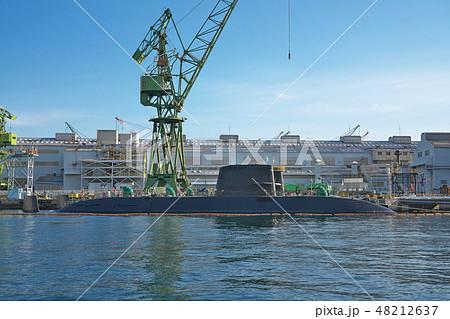 【潜水艦】 川崎重工業神戸工場第4ドック 48212637