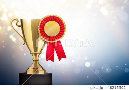 Badge Rosette Trophy Composition 48215592