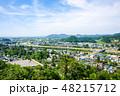 角館 町並み 眺めの写真 48215712