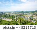 角館 町並み 眺めの写真 48215713