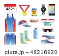アクセサリー 服 衣類のイラスト 48216920