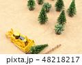森林と建設機械 48218217