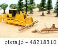 森林と建設機械 48218310