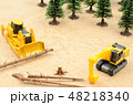 森林と建設機械 48218340