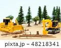 森林と建設機械 48218341