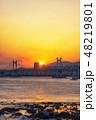 ブリッジ 橋 広安大橋の写真 48219801