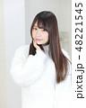 女性 女の子 ヘアスタイルの写真 48221545