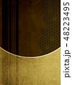 背景素材 紗綾形 和柄のイラスト 48223495