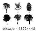 silhouette tree set 48224448