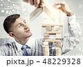 ビジネスマン 実業家 ビジネスの写真 48229328