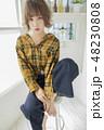 女性 女の子 ヘアスタイルの写真 48230808