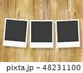 フレーム 木目 壁のイラスト 48231100