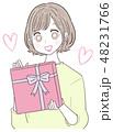 若い女性 プレゼント 48231766
