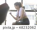 女性 若い女性 ジムの写真 48232062