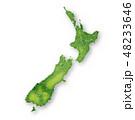 ニュージーランド 地図 フレーム アイコン 48233646