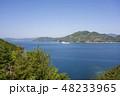 愛媛県八幡浜市 宇和海の風景 48233965