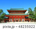 平安神宮 神社 神門の写真 48235022
